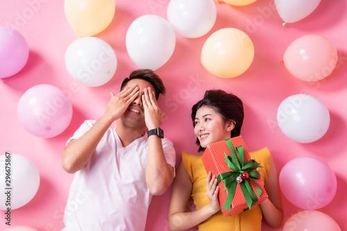 Obraz na plátně  Couple in love