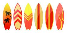 Surfboard Vector Design Illust...