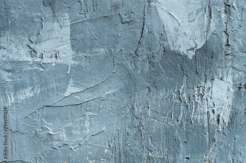 Cuadros en Lienzo The texture of gypsum or alibaster cracked plaster on the wall is a thick layer