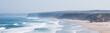 Leinwandbild Motiv Ocean coast view, perfect travel and holiday destination
