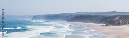 Ocean coast view, perfect travel and holiday destination Canvas