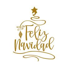 Feliz Navidad - Calligraphy Ph...
