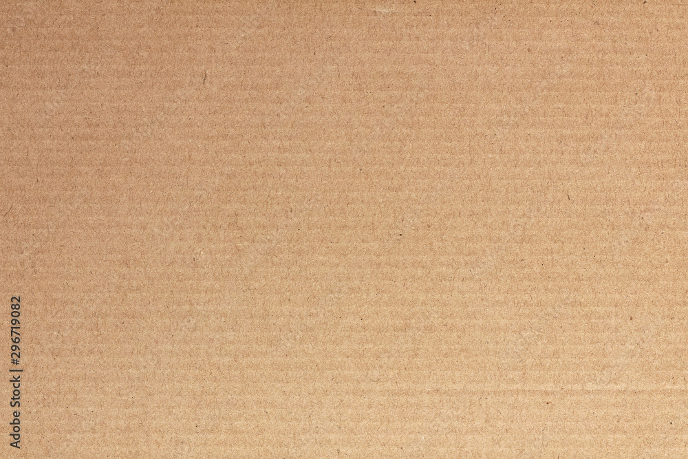 Fototapety, obrazy: Brown cardboard sheet abstract background, texture of recycle paper box in old vintage pattern for design art work.