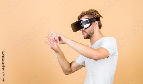 Virtual simulation Canvas Print