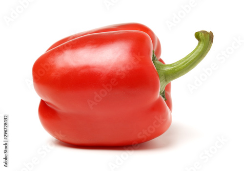 Stampa su Tela fresh bell pepper (capsicum) on white background