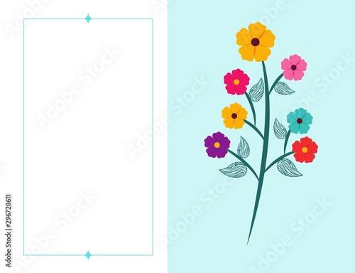 Obraz Flower Floral Nature Icon Fototapeta Na ścianę