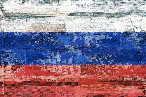 FLAGGE RUSSLAND #3009917 Wallpaper Mural