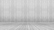 Leinwanddruck Bild - gray wall and floor wood background