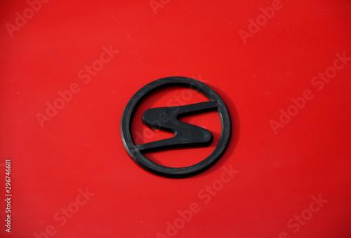 Fotografia  emblem of the Trabant car