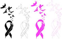 Awareness Ribbon - Cancer Ribb...