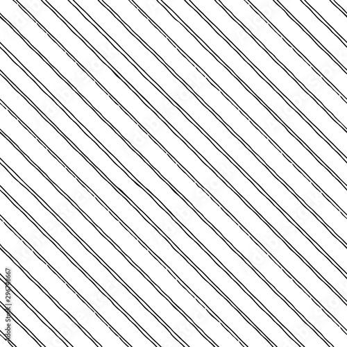 Seamless diagonal strips Canvas Print