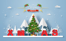 Origami Paper Art Of Christmas...