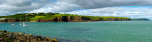 Beautiful Panorama Of Bay Near...