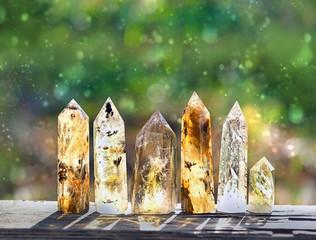 quartz stones mineral. beau...