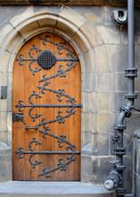 Medieval Front Door In The Pra...