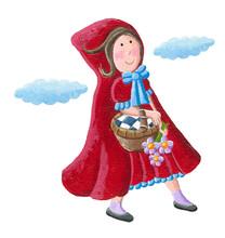 Llittle Red Riding Hood Holdin...
