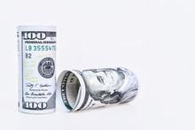 Rolls 100 US Dollar Banknotes ...
