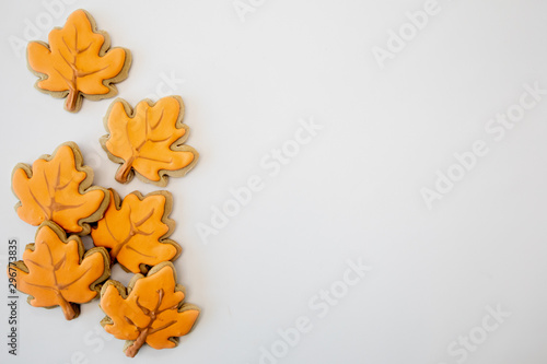 Fotografia, Obraz  Fall Cookies Celebrate Autumn