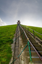 The Lion's Mound With Farm Lan...