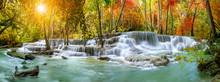 Colorful Majestic Waterfall In...