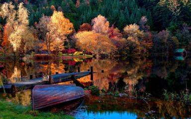 Fototapeta Jesień Осень