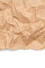 Brown Crumpled Wrapping Paper ...