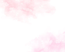 Pink Soft Watercolor Abstract ...