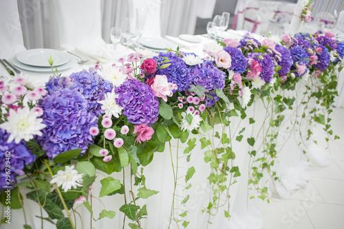 Fotografia floral decoration, wedding party