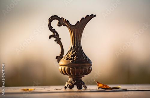 Fotografía  Still life with decorative dishes
