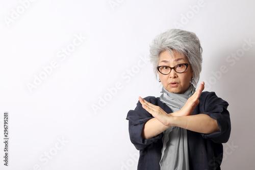 Obraz na plátne  Senior