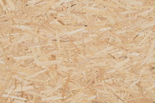 Bois Osb Construction écologique  Piece Of Recycled Wood, Background. Copy Space