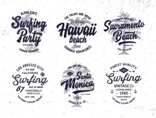 Vintage Surf Badges Collection...