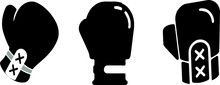 Boxing Gloves Icon Isolated On...