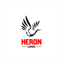 Modern And Creative Heron Logo