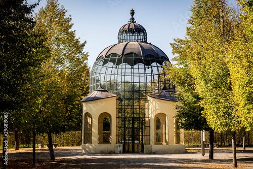 Palacio de Cristal Viena Canvas Print