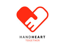 Hand Palm Care Love Symbol. Ha...