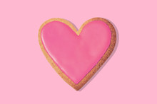Decorated Heart Shaped Cookie ...