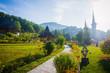 Leinwanddruck Bild - Barsana Monastery, Maramures, Romania, Europe