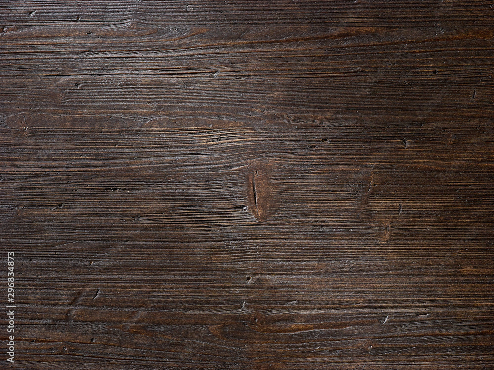 Fototapety, obrazy: dark brown wood
