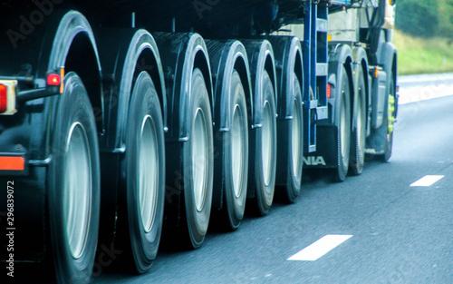 Wheels In Motion Canvas-taulu