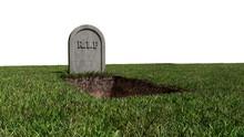 RIP Stone Grave Tomb