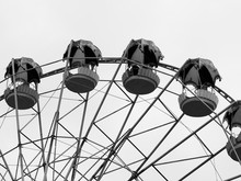Black And White Ferris Wheel B...