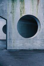 Architectural View Of Concrete...
