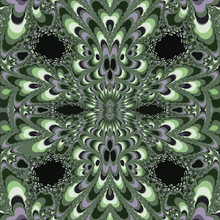 Fractal Bright Pattern For Pri...