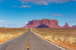 Monument Valley on a sunny day