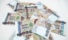 Background With Money Thai Thousand Baht Bills