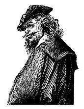 Rembrandt Van Rhyn Vintage Ill...
