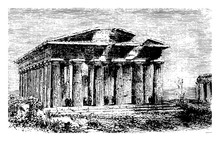 Temple Of Neptune Located In T...