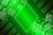 canvas print picture - abstract, green, blue, web, illustration, wallpaper, design, technology, business, world, wave, digital, pattern, map, internet, computer, curve, light, global, art, waves, concept, line, futuristic