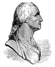Houdon Bust Of Washington Vint...